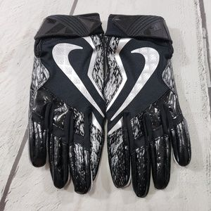 Nike Vapor Jet Football Gloves Size Large Black